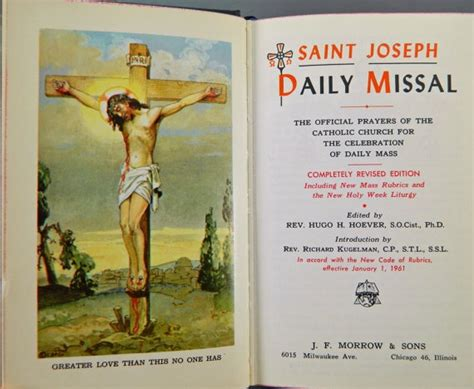 the roman missal 1962 english and latin edition roman saint joseph daily missal 1961 new edition latin english