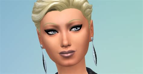 my sims 4 blog half back accessory hair bow by my sims 4 blog short slicked back gender conversion by