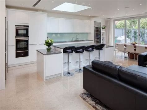 Open Plan Kitchen And Living Area by Stunning Open Plan Kitchen And Living Area In By