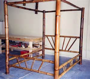 bamboo canopy bed bamboo four poster canopy bed made to order design ideas pinterest