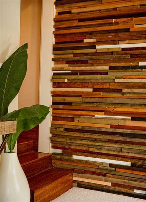 Deco Salon Bois Naturel