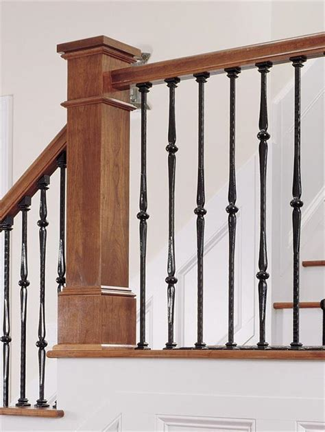 Black Metal Stair Spindles 1000 Images About Stairs On Traditional