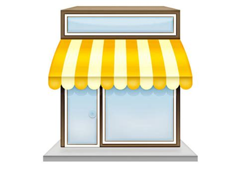 Stationary Awning The Kiosk Clipart Clipground