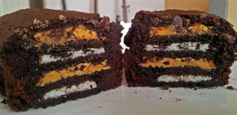 veganer oreo kuchen oreo erdnussbutter brownie muffin claudi s vegan world