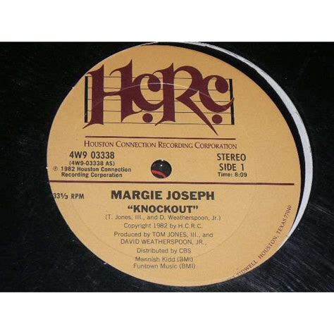 knockout by margie joseph 12inch with bruno30 ref 118056600