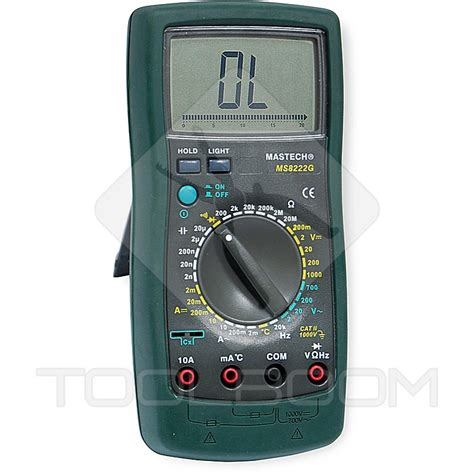 Multimeter Digital Mastech digital multimeter mastech ms8222g multimeters measuring equipment toolboom store