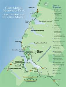 maps newfoundland canada gros morne national park map rocky harbour canada mappery