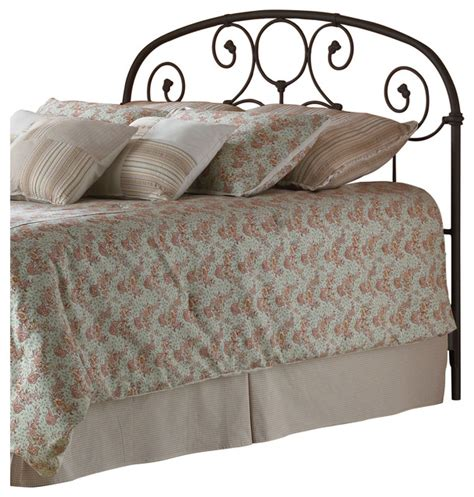 decorative metal headboards grafton metal headboard with scrollwork and decorative