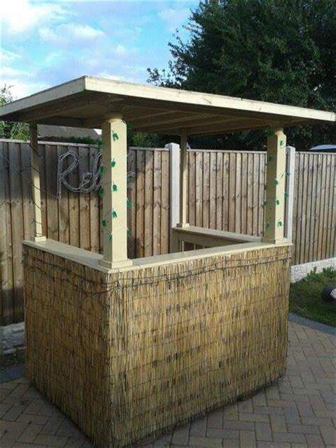 How To Make A Bar Out Of A Dresser by Pallet Outdoor Bar Pallet Furniture