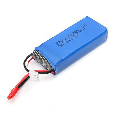 Promo Baterai Mjx X600 Parts Li Po Battery 7 4v 700mah mjx x101 rc quadcopter spare parts 7 4v 1300mah 25c upgrade battery sale hobbyant