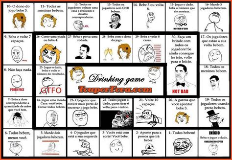 Drinking Game Memes - meme drinking game board