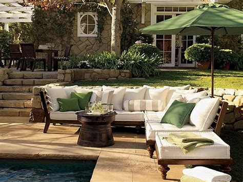 outdoor outdoor patio pool side backyard furniture ideas