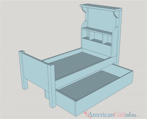 american girl doll bed plans how to make american girl bouquet bed american girl