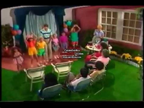 Backyard Barney by Ending To The Backyard Show 1998 Version