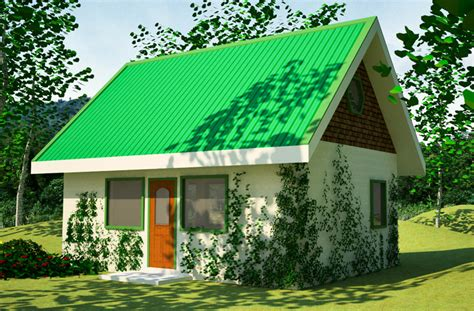 green cabin plans small straw bale house plans