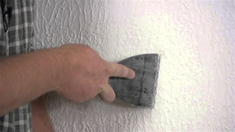 How To Spackle Ceiling by How To Repair Spackling On A Textured Wall Repairing