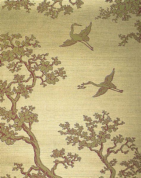 Next Wallpaper Gold Birds | florence broadhurst dcwdesign blog