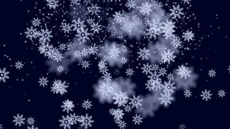 animated snow falling snow flakes animated winter background loop stock