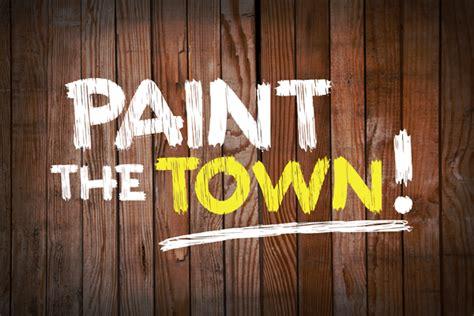 paint the town font dafont