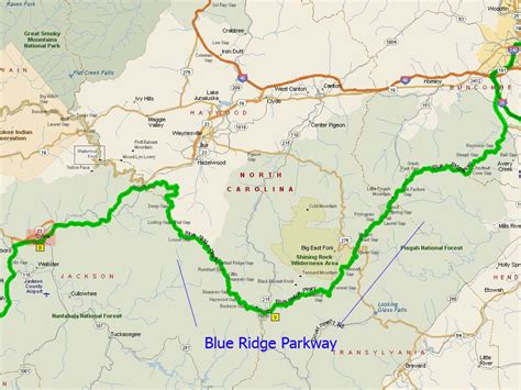 map of blue ridge parkway blue ridge skyline autos post