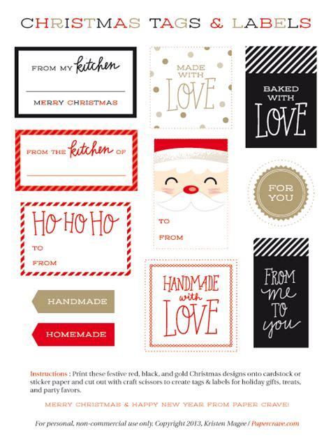 canadian living printable gift tags free printable diy holiday gift packaging paper crave