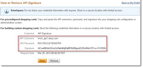 Mba Credentials Your Email Signature by Creating And Managing Nvp Soap Api Credentials Paypal
