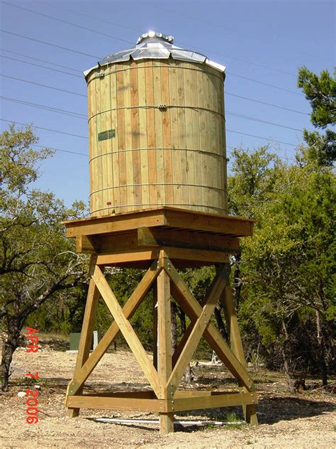 backyard water tower climate inc elevated wood water towers