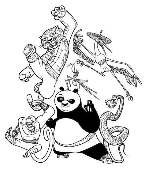 disney coloring pages pdf - Kung fu panda 1 Coloriage Kung fu Panda ...
