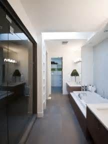 Houzz Bathroom Designs by Long Narrow Bathroom Houzz