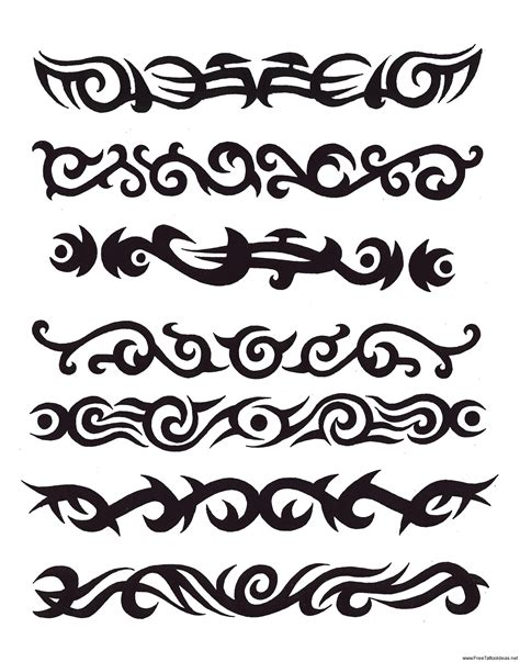 tribal tattoo arm designs armband tattoos