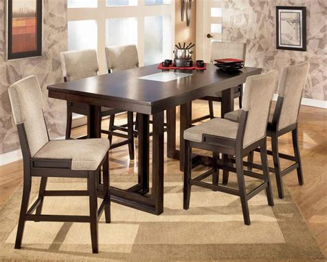 high dining table set dining table unique high dining table set modern 7