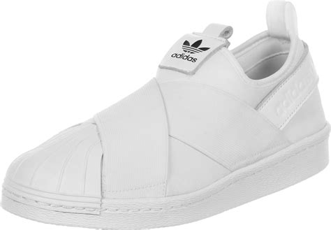 adidas superstar slip on w shoes white