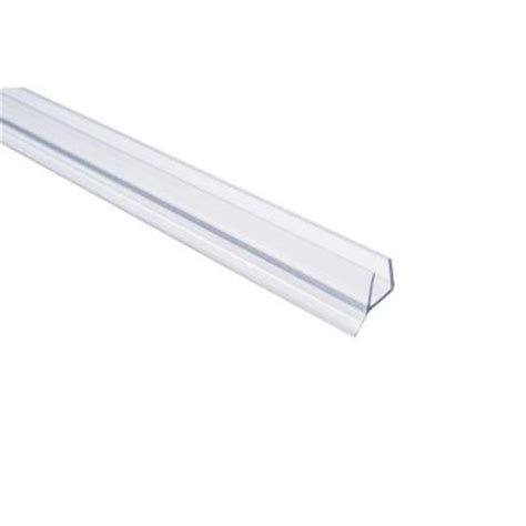 Frameless Shower Door Seal by Showerdoordirect 36 In Frameless Shower Door Seal With