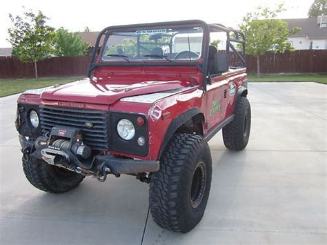land rover defender off road modifications find used 1995 land rover defender 90 nas st many upgrades