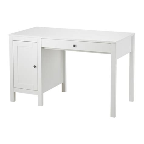 hemnes white desk hemnes desk white stained 120x55 cm ikea