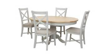 harbour extending table set of 4 dining chairs