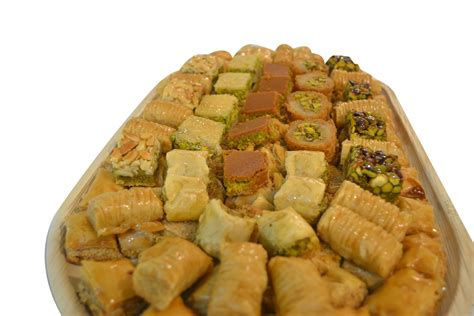 Arabic Sweet Baklava Roll Mixnut sweet palace we make our with and