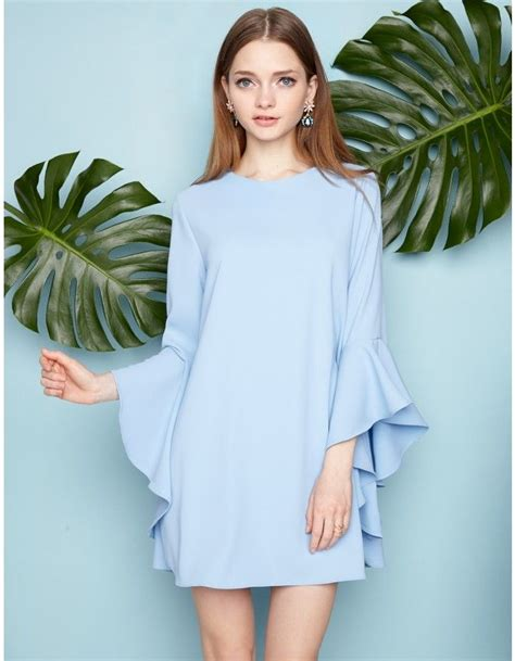 Ruffle Bell Dress best 25 bell sleeve dress ideas on bell