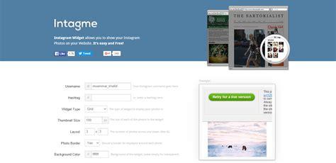 cara membuat widget instagram di blog cara memasang widget instagram di blog muammar khalid