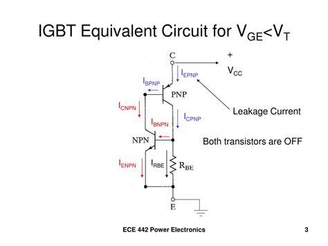 igbt transistor circuit ppt igbt insulated gate bipolar transistor powerpoint presentation id 395951