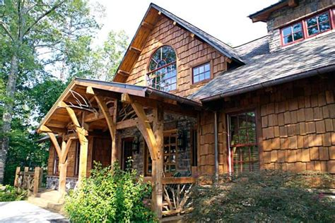 craftsman timber frame home traditional exterior