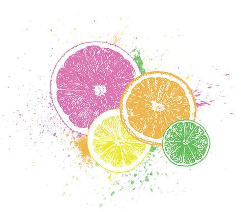Citrus Splash bottomless wallpaper