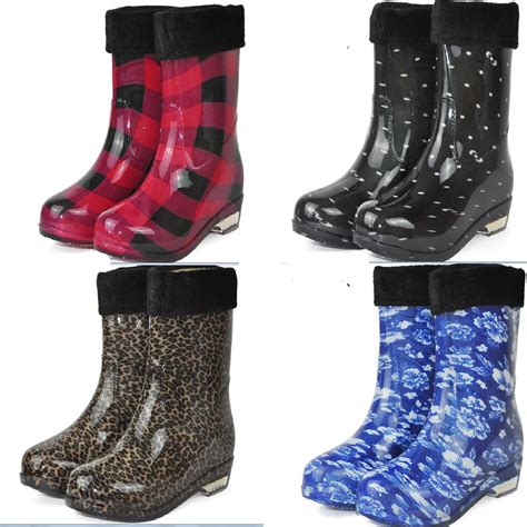 buy wholesale leopard print boots from china cheap rubber boots boot ri