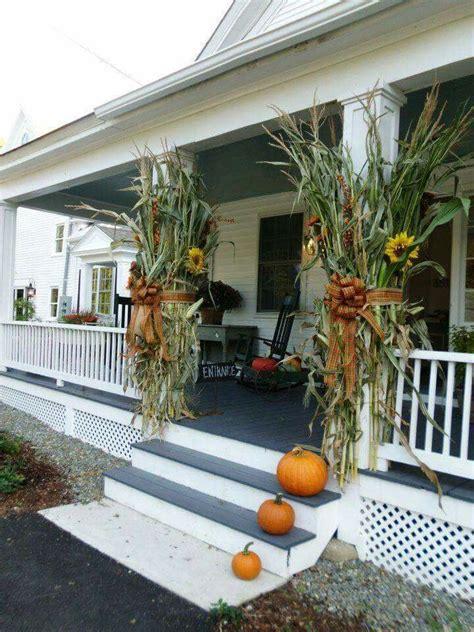 decorating  cornstalks images  pinterest