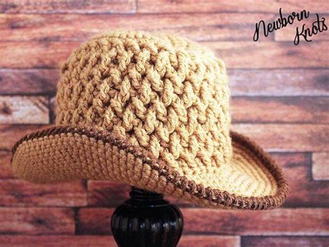 knitted baby cowboy hat pattern weaving baby cowboy hat a pattern