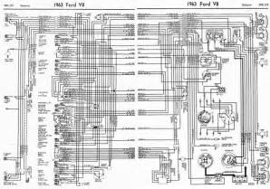 ford v8 galaxie 1963 complete electrical wiring diagram all about wiring diagrams