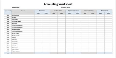 General Ledger Account Reconciliation Template Accounting Journal Template Accounting Business Ledger Template