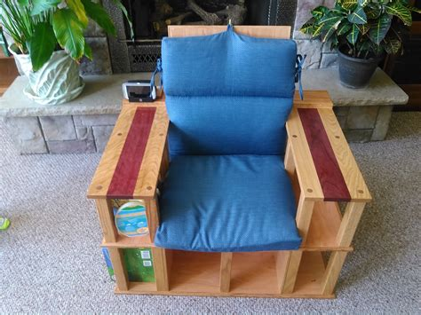 Bookshelf Chair by Al S Bookshelf Chair The Wood Whisperer