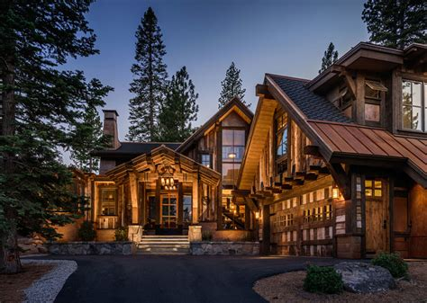 cabin style home mountain cabin overflowing with rustic character and