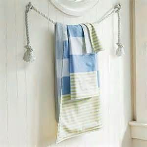 Bathroom Towel Racks Ideas by 57 Best Images About Nautical Themed Bathrooms On